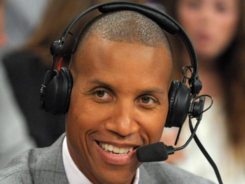 Reggie Miller the analyst