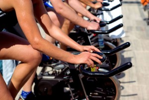 Men in Spin Class