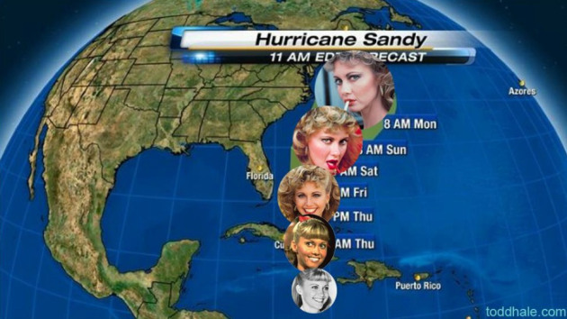 That bitch Sandy or……Bitch this baby ugly!!!