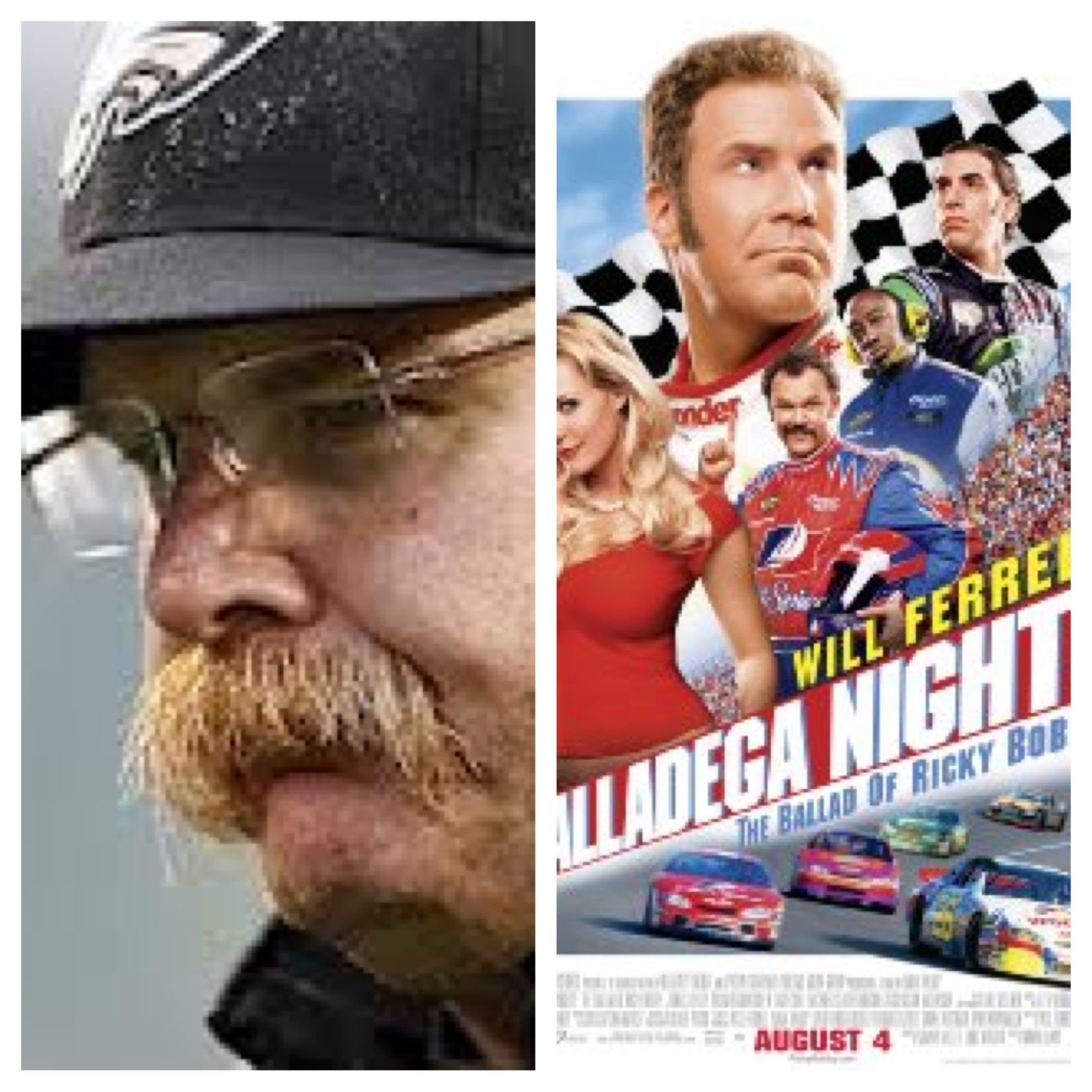 Time's yours or Talladega nights