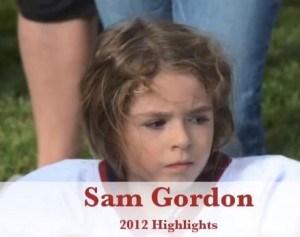 9 year old girl Football star
