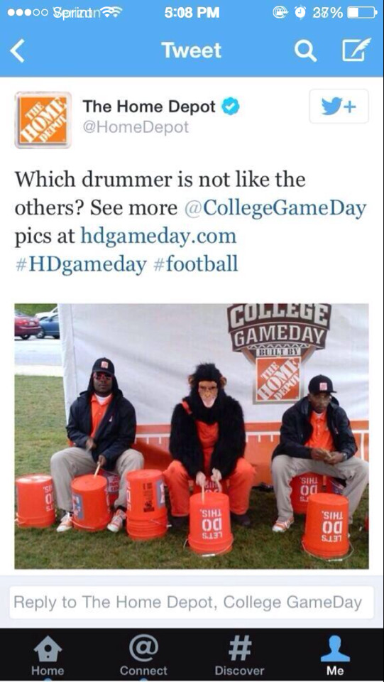 Here's what they think about you courtesy of Home Depot