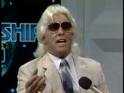 The GOAT Ric Flair